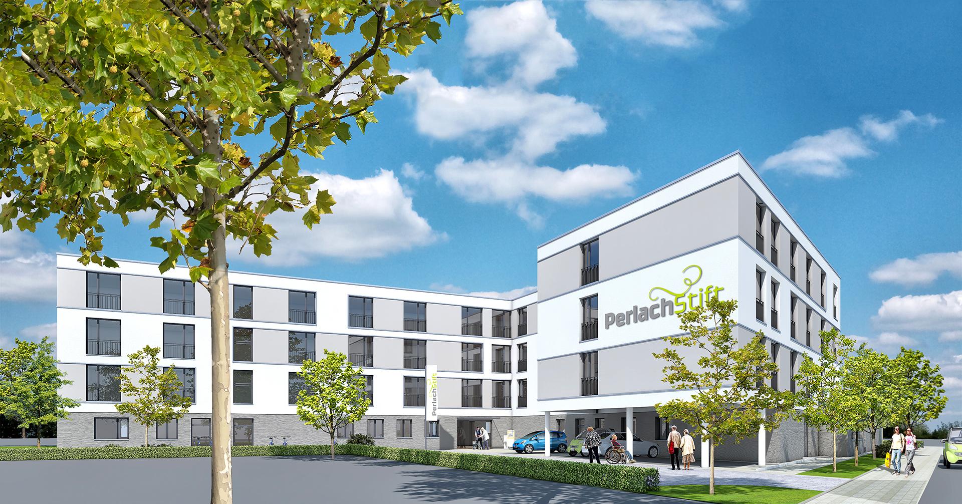 Verkauf von Neubauprojekt PerlachStift
